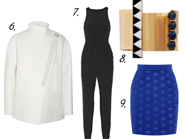 net-a-porter clearance sale finds silk jumpsuit stella mccartney skirt chloe jacket gold cuff thecovetable