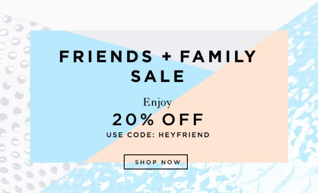Sale Alert Loeffler randall Friends and Family the covetable